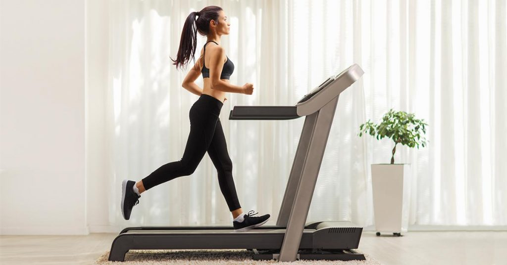 Workout on a Treadmill